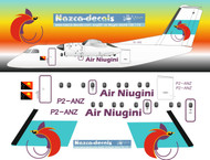 1/72 Scale Decal Air Niugini Dash-8