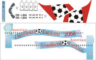 1/144 Scale Decal Austrian Airlines A-320 Football Livery