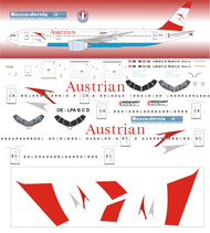1/144 Scale Decal Austrian Airlines 777-200