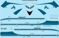1/144 Scale Decal Iran Air Boeing 707-320C