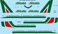 1/144 Scale Decal Alitalia Airbus A321