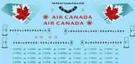 1/144 Scale Decal Air Canada Airbus A320