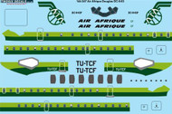 1/144 Scale Decal Air Afrique Douglas DC-8-63