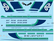 1/144 Scale Decal Air New Zealand McDonnell Douglas DC-10-30