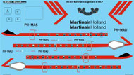 1/144 Scale Decal Martinair Holland Douglas DC-8-55CF