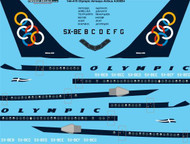 1/144 Scale Decal Olympic Airbus A300B4
