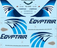 1/144 Scale Decal Egypt Air Airbus A330-300