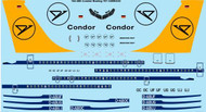 1/144 Scale Decal Condor Boeing 707-330/430