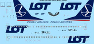 1/144 Scale Decal LOT Polish Airlines Boeing 737-400