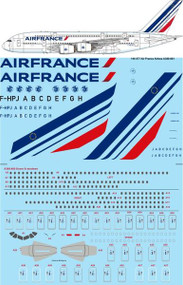 1/144 Scale Decal Air France Airbus A380-861