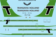 1/144 Scale Decal Transavia Holland Boeing 707-123B