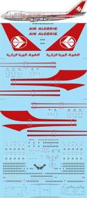 1/144 Scale Decal Air Algerie Boeing 747-273C