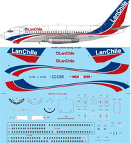 1/144 Scale Decal Lan Chile Boeing 737-230/Adv