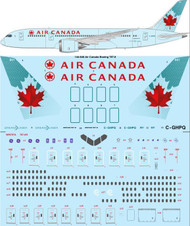 1/144 Scale Decal Air Canada Boeing 787-8
