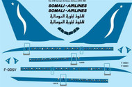 1/144 Scale Decal Somali Airlines Airbus A310-300
