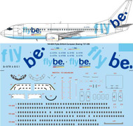 1/144 Scale Decal Flybe Boeing 737-300
