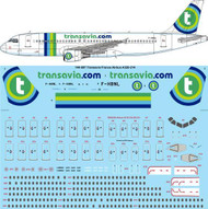 1/144 Scale Decal Transavia France Airbus A320-214