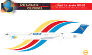 1/144 Scale Decal Insel Air Aruba MD-82