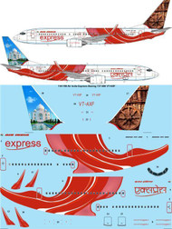 1/144 Scale Decal Air India Express Boeing 737-800 VT-AXF