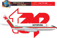 1/144 Scale Decal TAP Air Portugal 737-200