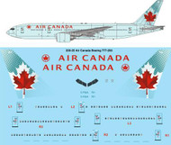 1/200 Scale Decal Air Canada Boeing 777-233LR
