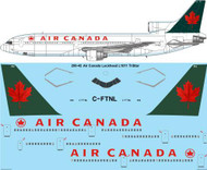 1/200 Scale Decal Air Canada Lockheed L1011 TriSta