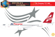 1/144 Scale Decal Air Panama 737-300