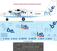 1/72 Scale Decal Flybe DHC-6 Twin Otter