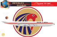 1/144 Scale Decal EgyptAir 707-366C