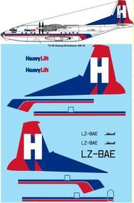 1/72 Scale Decal HeavyLift Antonov AN-12BP