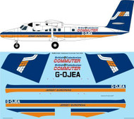 1/72 Scale Decal British Caledonian Commuter Twin Otter