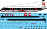 1/144 Scale Decal BEA Red Square Viscount 800