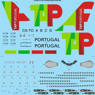 1/144 Scale Decal TAP Portugal Airbus A340-300