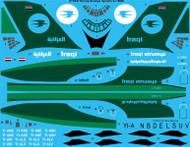 1/144 Scale Decal Iraqi Airways Ilyushin IL-76MD