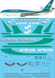 1/144 Scale Decal Air Florida McDonnell Douglas DC-10-30CF