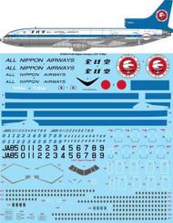 1/144 Scale Decal All Nippon Airways L1011 TriStar