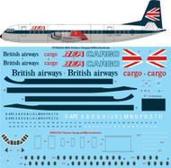 1/144 Scale Decal BEA Vickers Vanguard/Merchantman