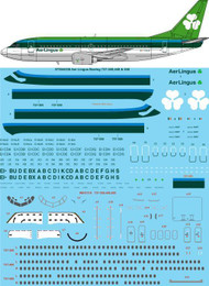 1/144 Scale Decal Aer Lingus Boeing 737-300,400,500