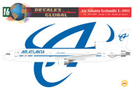 1/144 Scale Decal Air Atlanta Icelandic L-1011