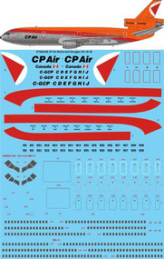 1/144 Scale Decal CP Air McDonnell Douglas DC-10-30