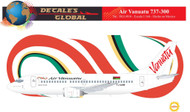 1/144 Scale Decal Air Vanauatu 737-300