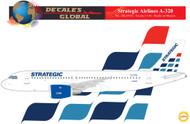 1/144 Scale Decal Strategic A-320