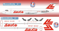 1/144 Scale Decal Lauda BAC-111