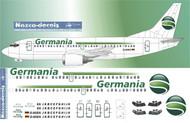 1/144 Scale Decal Germania B737-300 new scheme