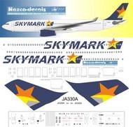 1/144 Scale Decal Skymark A330-300