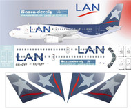1/144 Scale Decal LAN A-319
