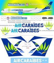 1/144 Scale Decal Air Caraibes A350-900