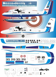 1/144 Scale Decal TANS Peru Twin Otter