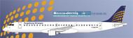 1/144 Scale Decal Augsburg Airways  Emberair 195