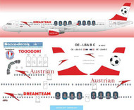 1/144 Scale Decal Austrian A-321 my Dreameam Livery